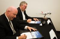 ニュース画像:ボンバルディアとSWISS、パーツ供給のメンテナンス契約を締結