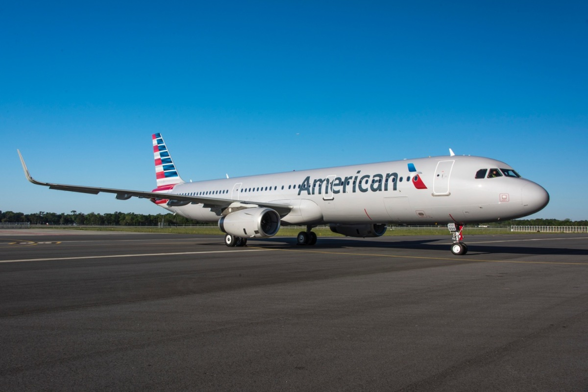 ニュース画像 1枚目:アメリカ工場で最終組立したアメリカン航空向けA321