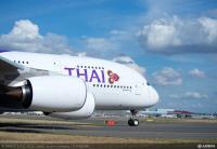ニュース画像:タイ国際航空、関空/バンコク線でA380での運航を再開 5月17日から
