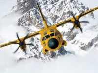 ニュース画像:レオナルドなど、カナダ次期固定翼救難捜索機にC-27Jをアピール