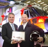 ニュース画像:レオナルド、ノルウェー空軍向けAW101全天候救難ヘリをロールアウト