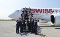 ニュース画像:ボンバルディアのCシリーズ、スターアライアンス各社社長が搭乗