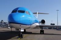 ニュース画像:KLMシティホッパー、2017年10月29日にフォッカー70を完全退役