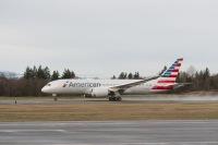 ニュース画像:アメリカン航空、同社初の787 「N800AN」を受領