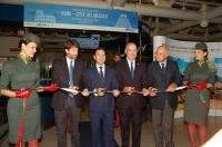 ニュース画像 1枚目:レオナルド・ダ・ヴィンチ国際空港で開催された初便就航の式典