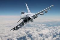 ニュース画像:タイフーン、イギリスで開催の航空ショーで武装フル装備で展示飛行