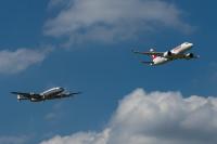 ニュース画像:SWISSのCS100、チューリッヒでスーパーコンステレーションとローパス