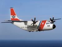 ニュース画像:レオナルド、アメリカ沿岸警備隊のC-27Jをファンボローで初展示