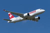 ニュース画像:SWISS、2機目のCシリーズでジュネーブ上空を展示飛行へ 愛称命名で