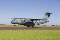 ニュース画像:エンブラエル、KC-390で初の国外飛行を成功裡に終了 約3万キロを飛行