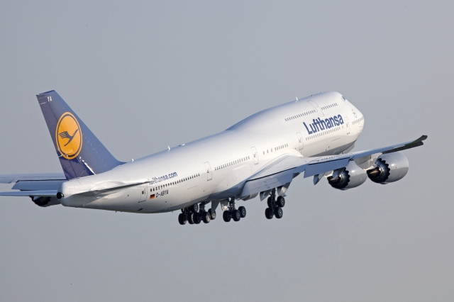 ニュース画像 1枚目:ルフトハンザドイツ航空の747-8インターコンチネンタル