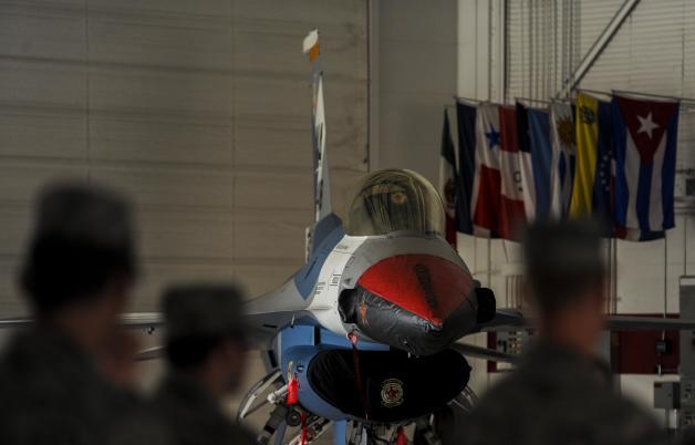 ニュース画像 1枚目:第64アグレッサー飛行隊のF-16ファイティングファルコン