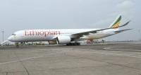 ニュース画像:エチオピア航空、2機目のA350を受領 愛称は「ベールマウンテンズ」