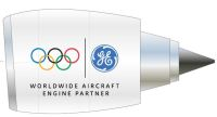 ニュース画像:GE、JALとANAの協力で777-300ERのエンジンをオリンピック仕様に