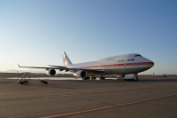 ニュース画像:政府専用機、首相のロシア、中国、ラオス訪問で運航 9月2日から8日