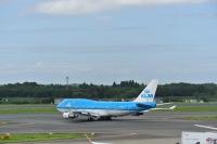 ニュース画像 6枚目:747ではラストフライトとなるKLM