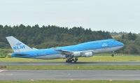 ニュース画像 8枚目:KLMの747、成田で最後の離陸