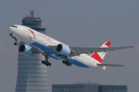 ニュース画像:オーストリア航空、成田/ウィーン線でラストフライト OS52便を運航