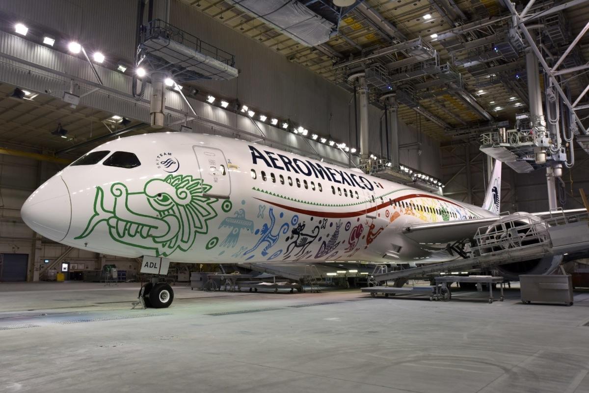 ニュース画像 1枚目:アエロメヒコ航空、787-9「ケツァルコアトル」
