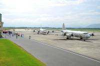 ニュース画像:海自鹿屋航空基地、カカドゥ16の参加でP-3Cの見送り式を実施