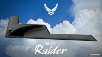 ニュース画像:アメリカ空軍、B-21レイダーの初配備基地 エルスワースに正式決定