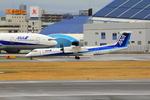 ふじいあきらさんが、伊丹空港で撮影したANAウイングス DHC-8-402Q Dash 8の航空フォト(写真)