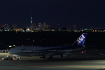 maruさんが、羽田空港で撮影した全日空 747-481(D)の航空フォト(写真)