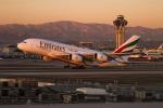 ロサンゼルス国際空港 - Los Angeles International Airport [LAX/KLAX]で撮影されたエミレーツ航空 - Emirates [EK/UAE]の航空機写真
