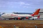 このえさんが、成田国際空港で撮影したエア・インディア 747-437の航空フォト(写真)