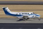 Scotchさんが、名古屋飛行場で撮影したダイヤモンド・エア・サービス 200T Super King Airの航空フォト(飛行機 写真・画像)