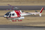Scotchさんが、名古屋飛行場で撮影した朝日航洋 AS350B3 Ecureuilの航空フォト(飛行機 写真・画像)