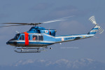 Scotchさんが、名古屋飛行場で撮影した愛知県警察 412EPの航空フォト(飛行機 写真・画像)