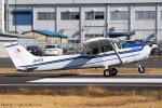 Chofu Spotter Ariaさんが、調布飛行場で撮影した朝日航空 172P Skyhawkの航空フォト(飛行機 写真・画像)