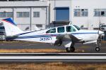 Chofu Spotter Ariaさんが、調布飛行場で撮影した日本個人所有 C33A Debonair  (35-C33A)の航空フォト(飛行機 写真・画像)