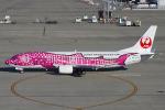 Scotchさんが、中部国際空港で撮影した日本トランスオーシャン航空 737-446の航空フォト(飛行機 写真・画像)