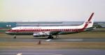 sin747さんが、羽田空港で撮影したガルーダ・インドネシア航空 DC-8-55の航空フォト(写真)