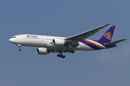 PINK_TEAM78さんが、成田国際空港で撮影したタイ国際航空 777-2D7の航空フォト(写真)