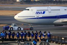 T.Sazenさんが、伊丹空港で撮影した全日空 747-481(D)の航空フォト(飛行機 写真・画像)
