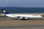 Scotchさんが、中部国際空港で撮影したルフトハンザドイツ航空 A340-313Xの航空フォト(写真)