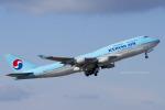 Scotchさんが、中部国際空港で撮影した大韓航空 747-4B5の航空フォト(飛行機 写真・画像)