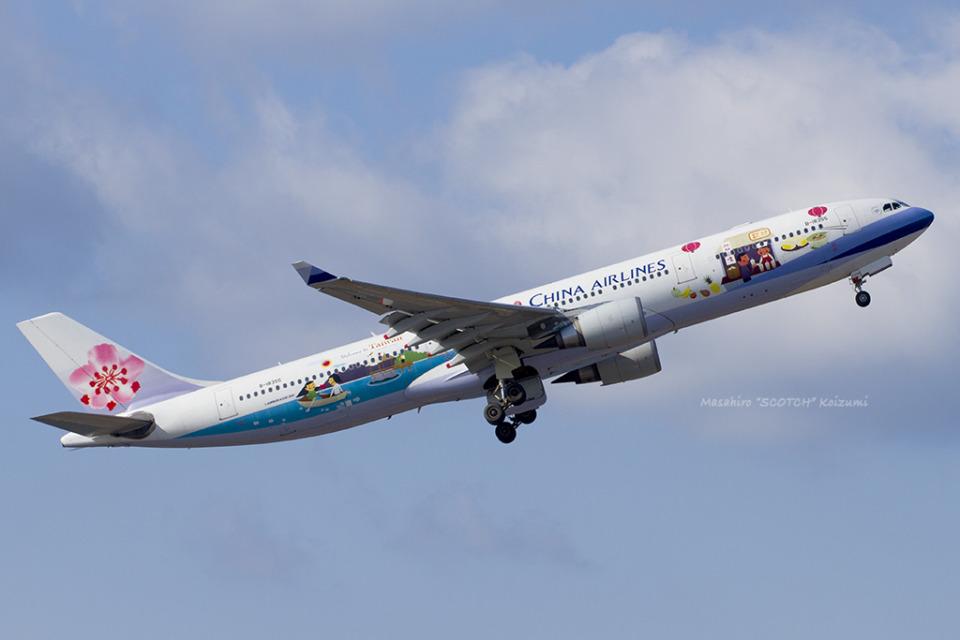 Scotchさんのチャイナエアライン Airbus A330-300 (B-18355) 航空フォト
