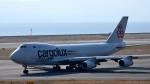 mojioさんが、関西国際空港で撮影したカーゴルクス・イタリア 747-4R7F/SCDの航空フォト(飛行機 写真・画像)