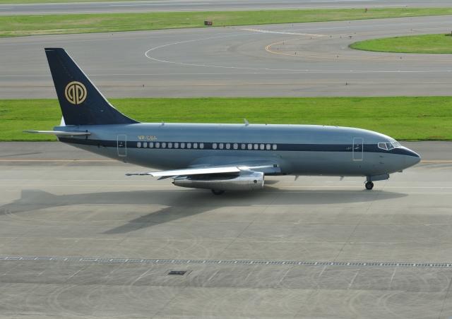 くわなりんさんが、中部国際空港で撮影したスカイ・アヴィエーション 737-2W8/Advの航空フォト(飛行機 写真・画像)