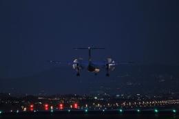 O-TOTOさんが、伊丹空港で撮影した全日空 DHC-8-400の航空フォト(飛行機 写真・画像)