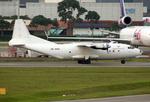 VQ-BELさんが、シンガポール・チャンギ国際空港で撮影したエアマーク・アビエーション・シンガポール An-12TBの航空フォト(写真)