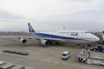 しゅあさんが、伊丹空港で撮影した全日空 747-481(D)の航空フォト(写真)