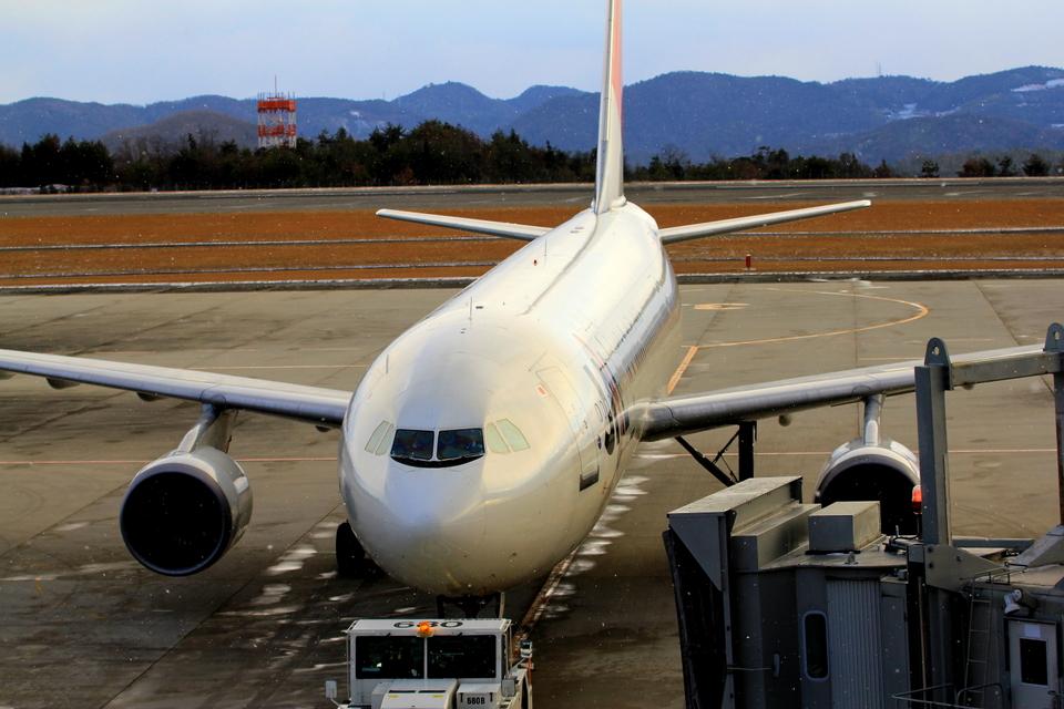 ふじいあきらさんの日本航空 Airbus A300-600 (JA016D) 航空フォト