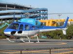 ゴンタさんが、浦安ヘリポートで撮影したエクセル航空 AS355N Ecureuil 2の航空フォト(写真)
