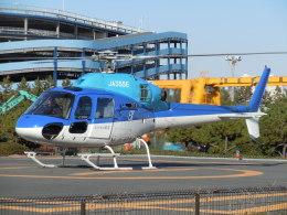 ゴンタさんが、浦安ヘリポートで撮影したエクセル航空 AS355N Ecureuil 2の航空フォト(飛行機 写真・画像)