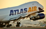 鹿児島空港 - Kagoshima Airport [KOJ/RJFK]で撮影されたアトラス航空 - Atlas Air [GTI]の航空機写真